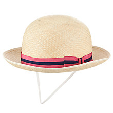 Buy St Martin's School Girls' Summer Boater Online at johnlewis.com