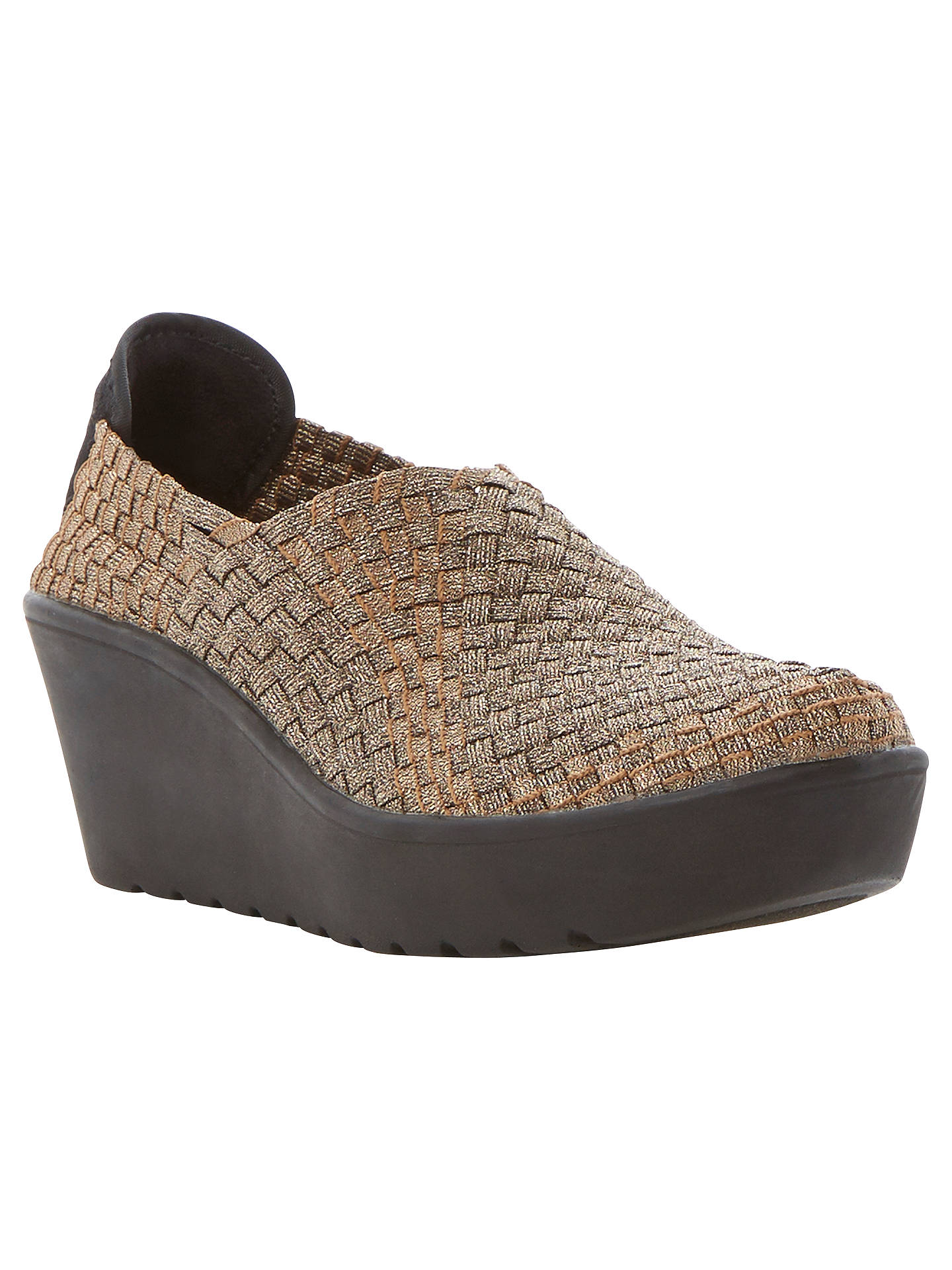 c58308afbf7 Steve Madden Betsi Wedge Shoes at John Lewis & Partners