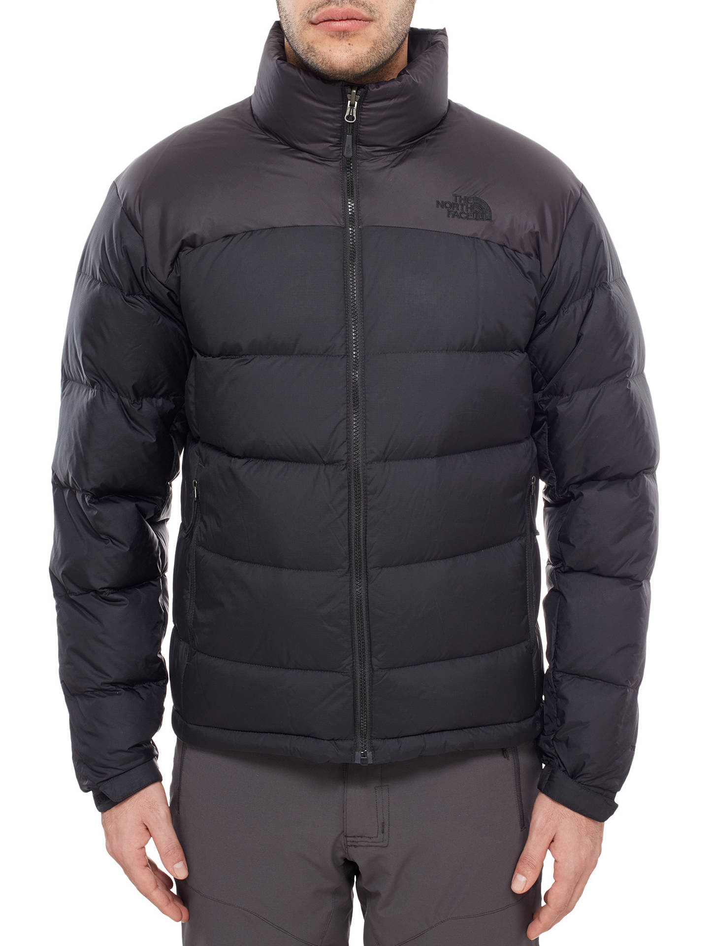 3bfc048c0 The North Face Nuptse Down Men's Jacket, Black at John Lewis & Partners