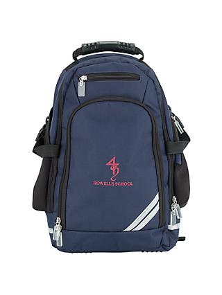 Howell's School Backcare Backpack, Navy