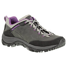 Buy Merrell Salida Trekker Leather Trainers, Grey Online at johnlewis.com