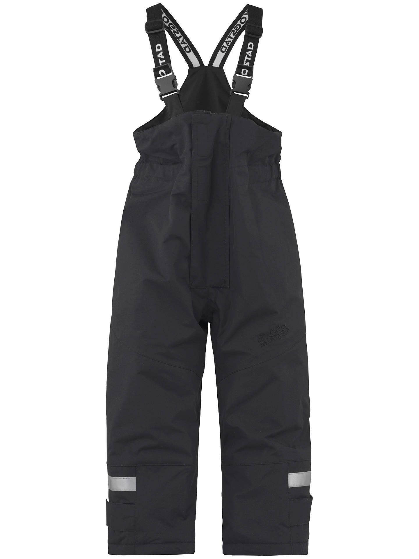 5095fc6b Buy Skogstad Children's Ritz Salopette Trousers, Black, 2 years Online at  johnlewis. ...