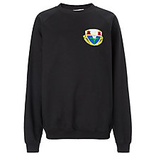 Buy Harlaw Academy Jumper, Black Online at johnlewis.com