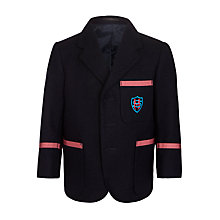 Buy St Martin's School Blazer, Navy Blue Online at johnlewis.com