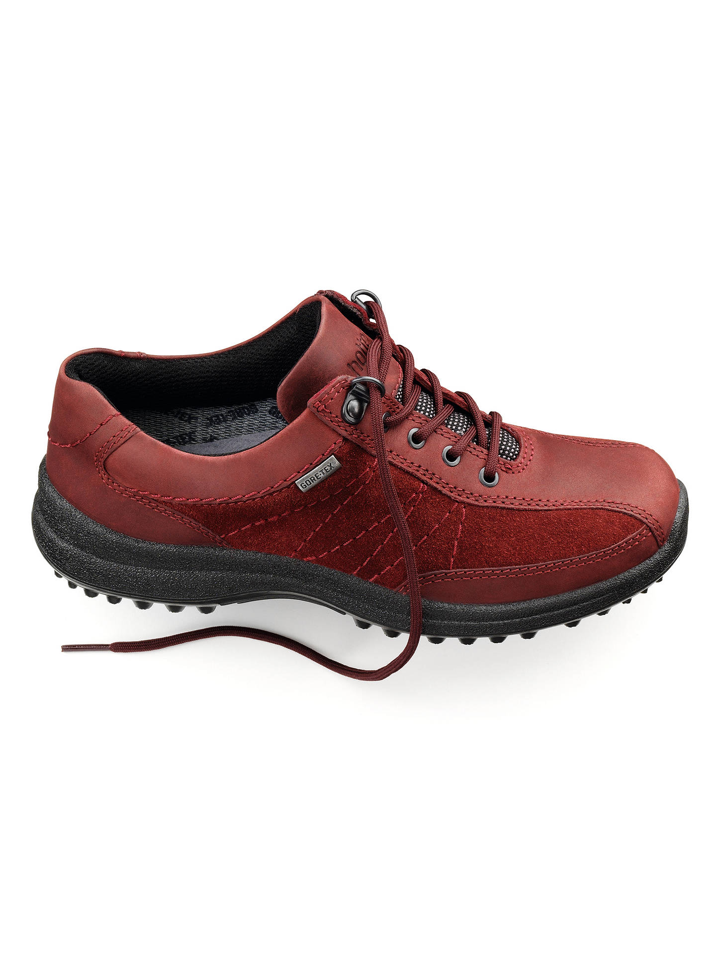 4d2368e4ea8 Hotter Made in England Mist Leather Waterproof Shoes at John Lewis ...