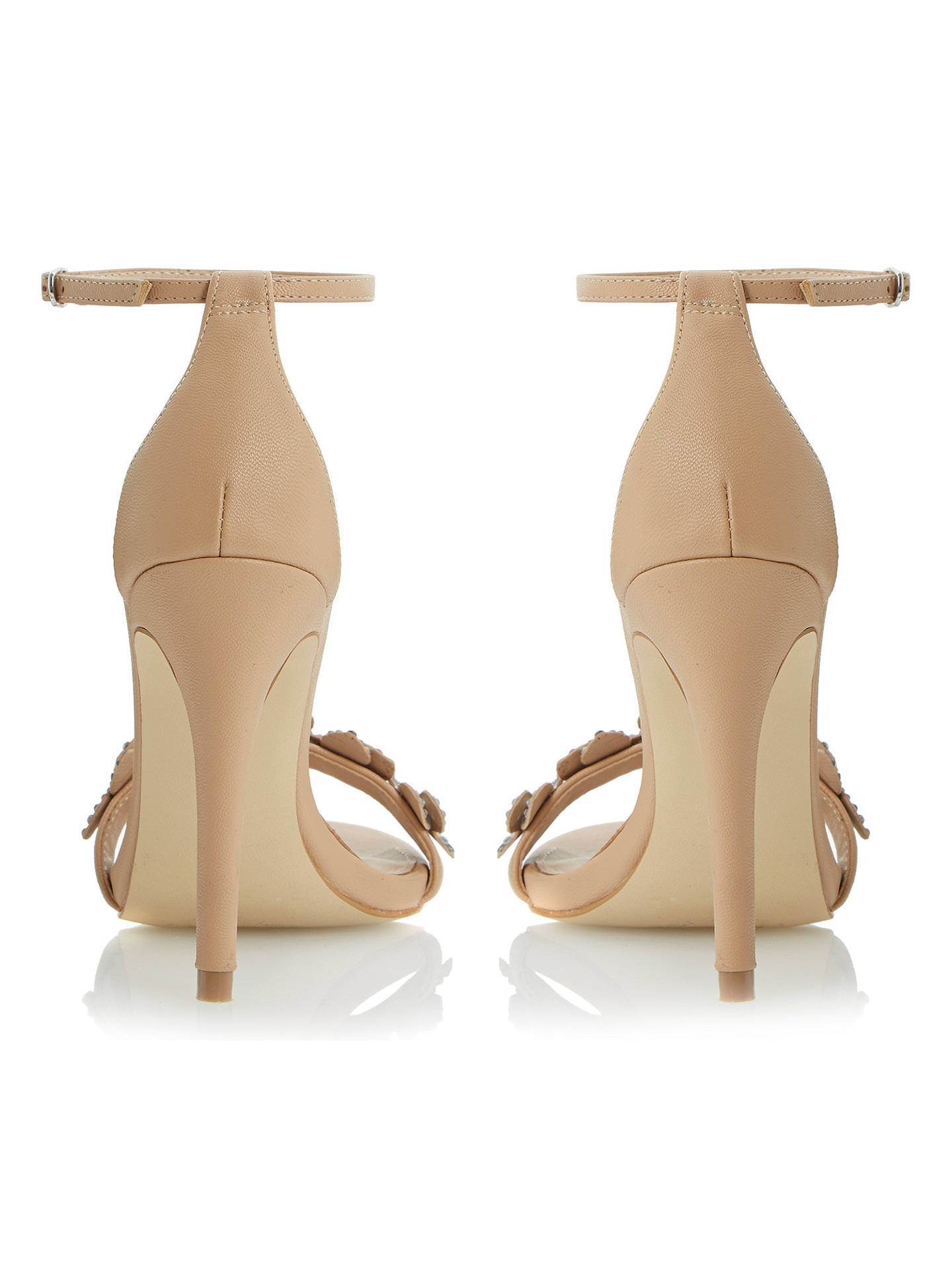 541eca11535 Steve Madden Stecy-F SM Barely There High Heeled Sandals, Nude ...