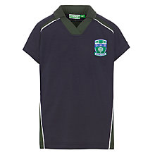 Buy Copthall School Girls' Games Top, Navy/Multi Online at johnlewis.com