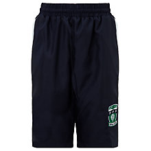 Buy Copthall School Girls' Sports Shorts, Navy Online at johnlewis.com