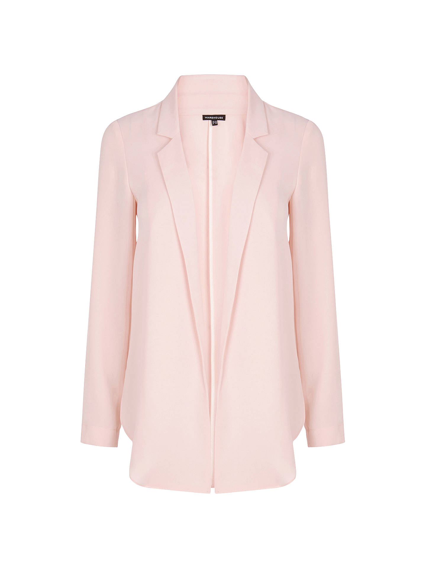 Warehouse Soft Blazer Jacket At John Lewis Partners