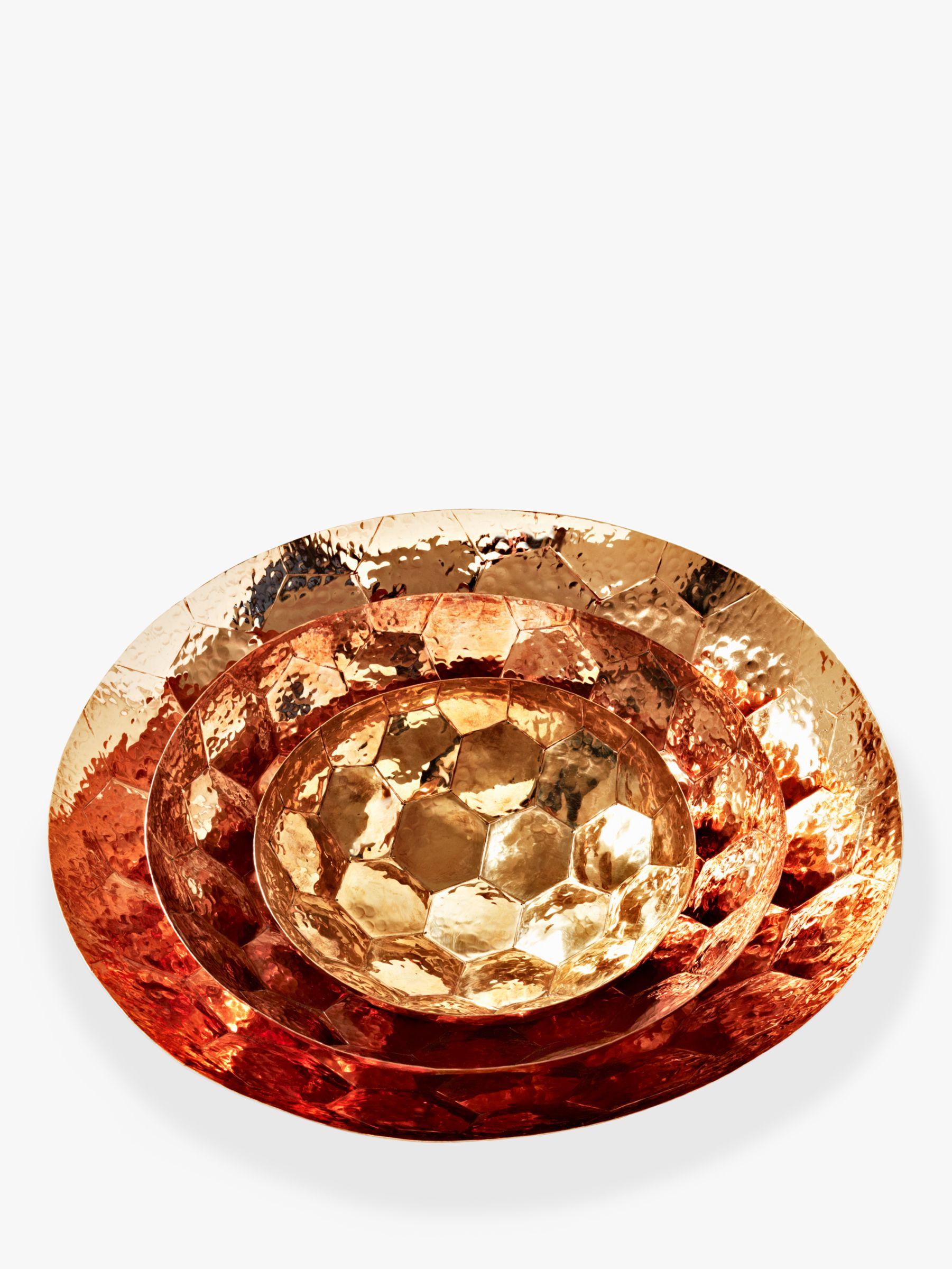 Tom Dixon Tom Dixon Hex Bowl, Copper