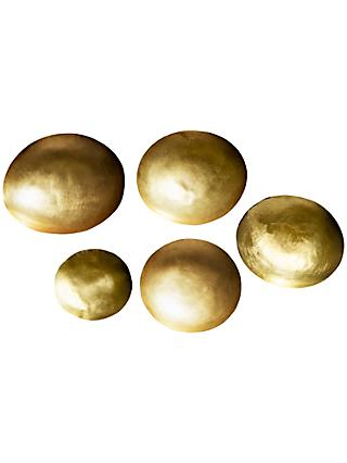 Tom Dixon Form Brass Bowls, Set of 5