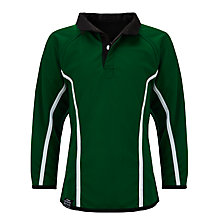 Buy School Sports Rugby Jersey, Green Online at johnlewis.com