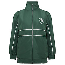 Buy Buckholme Towers School Tracksuit Top, Bottle Green Online at johnlewis.com