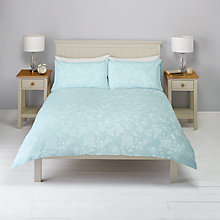 Buy John Lewis Melissa Floral Jacquard Duvet Cover and Pillowcase Set Online at johnlewis.com