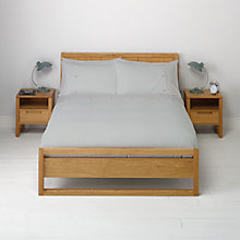 Buy John Lewis Bordered Waffle Duvet Cover and Pillowcase Set Online at johnlewis.com