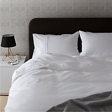 Buy John Lewis Bordered Waffle Duvet Cover Set Online at johnlewis.com