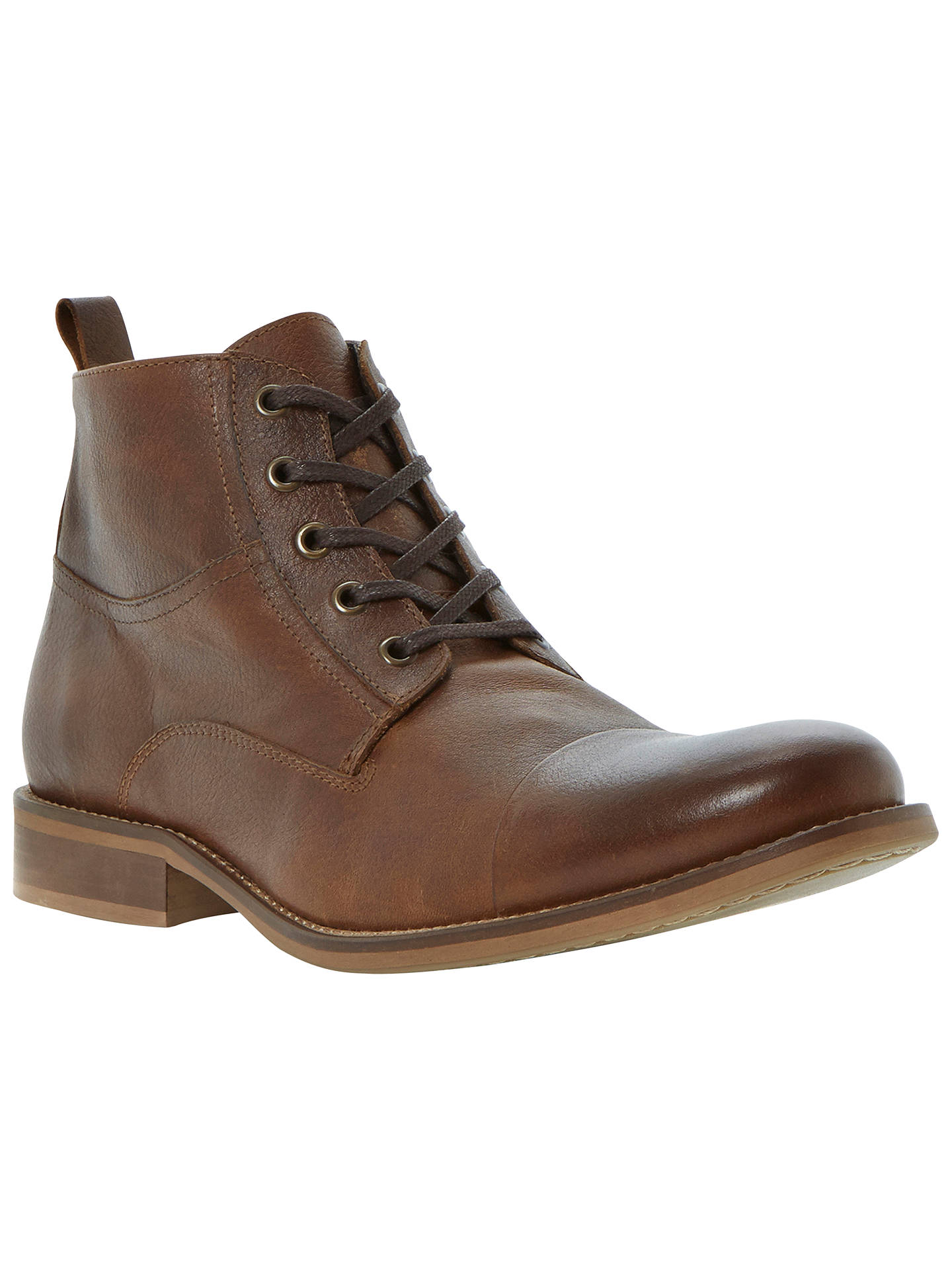 9139c1c3924 Bertie Cadet Leather Lace-Up Boot at John Lewis & Partners