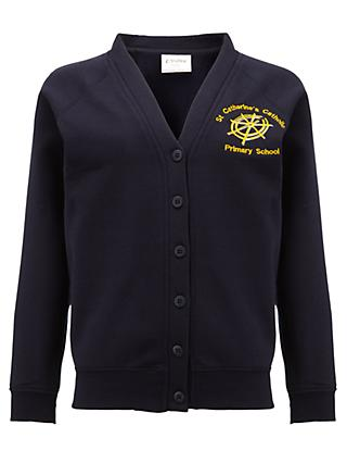 3c1a9cefe9 St Catherine s Catholic Primary School Girls  Button Cardigan