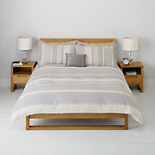 Buy John Lewis Elliott Jacquard Stripe Bedding Online at johnlewis.com