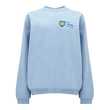 Buy The Castle School PE Jumper, Sky Blue Online at johnlewis.com