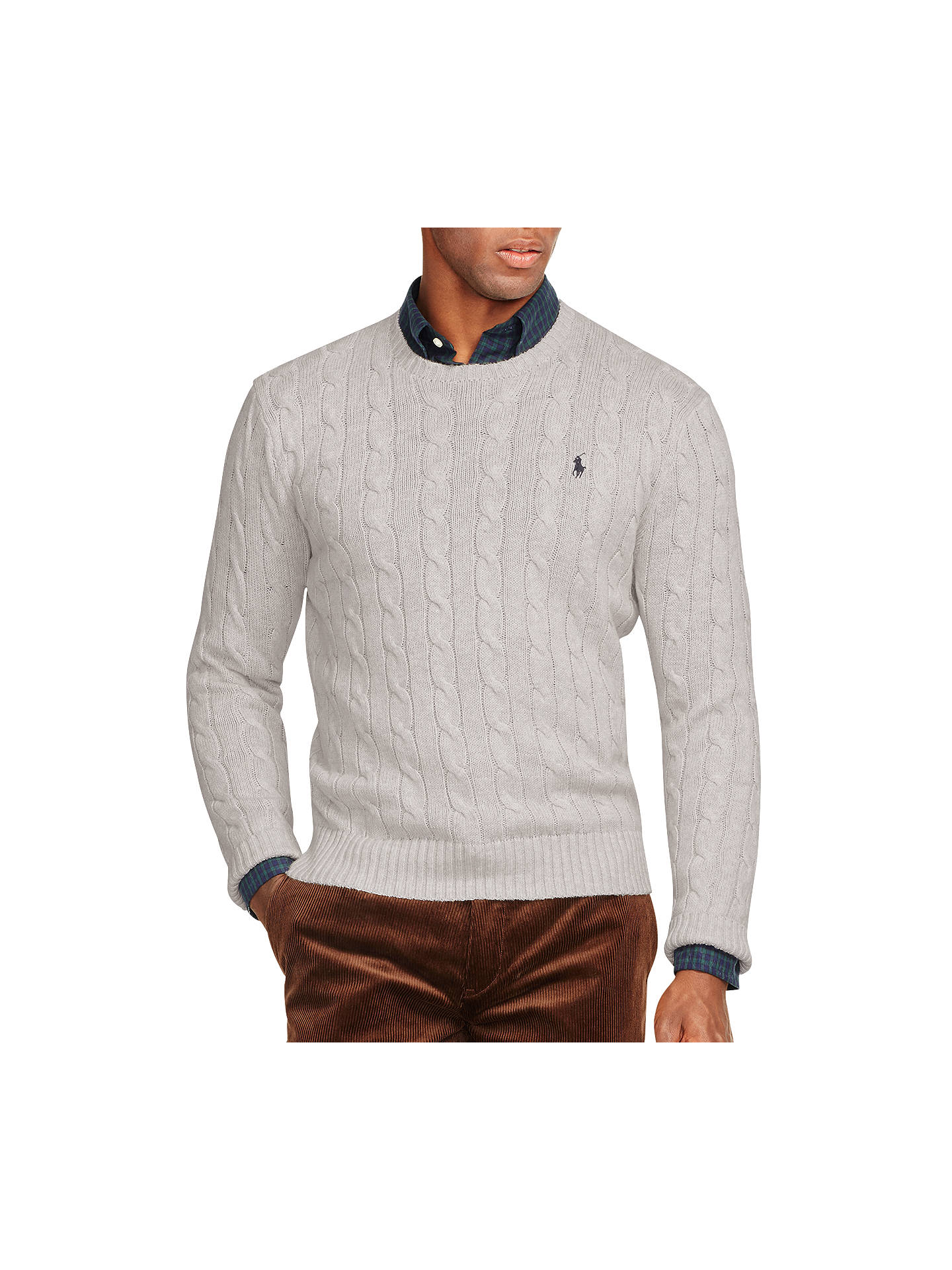 9053e0d150eb Buy Polo Ralph Lauren Cable Knit Crew Neck Jumper