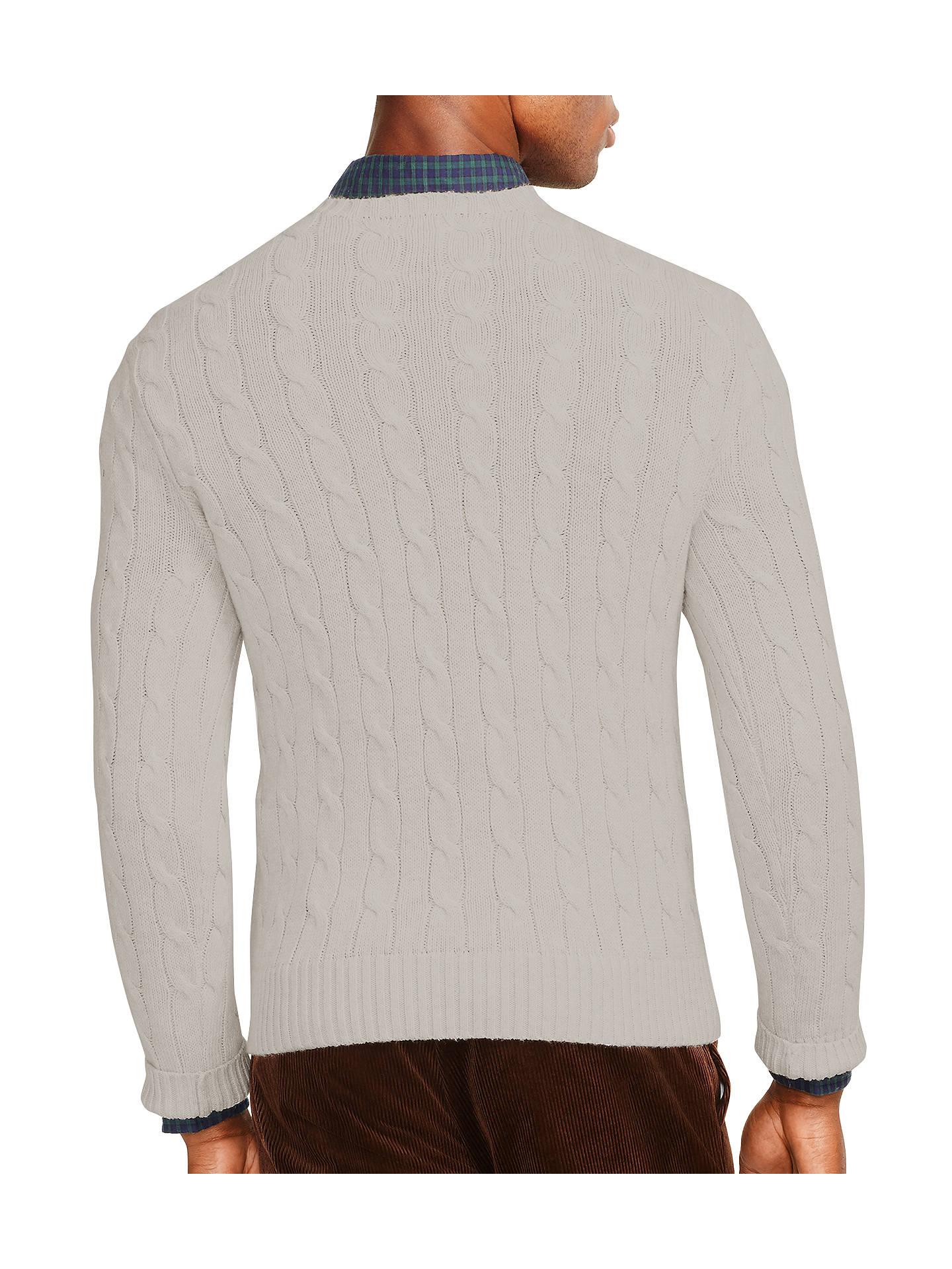 720b6c7993da4 ... Buy Polo Ralph Lauren Cable Knit Crew Neck Jumper