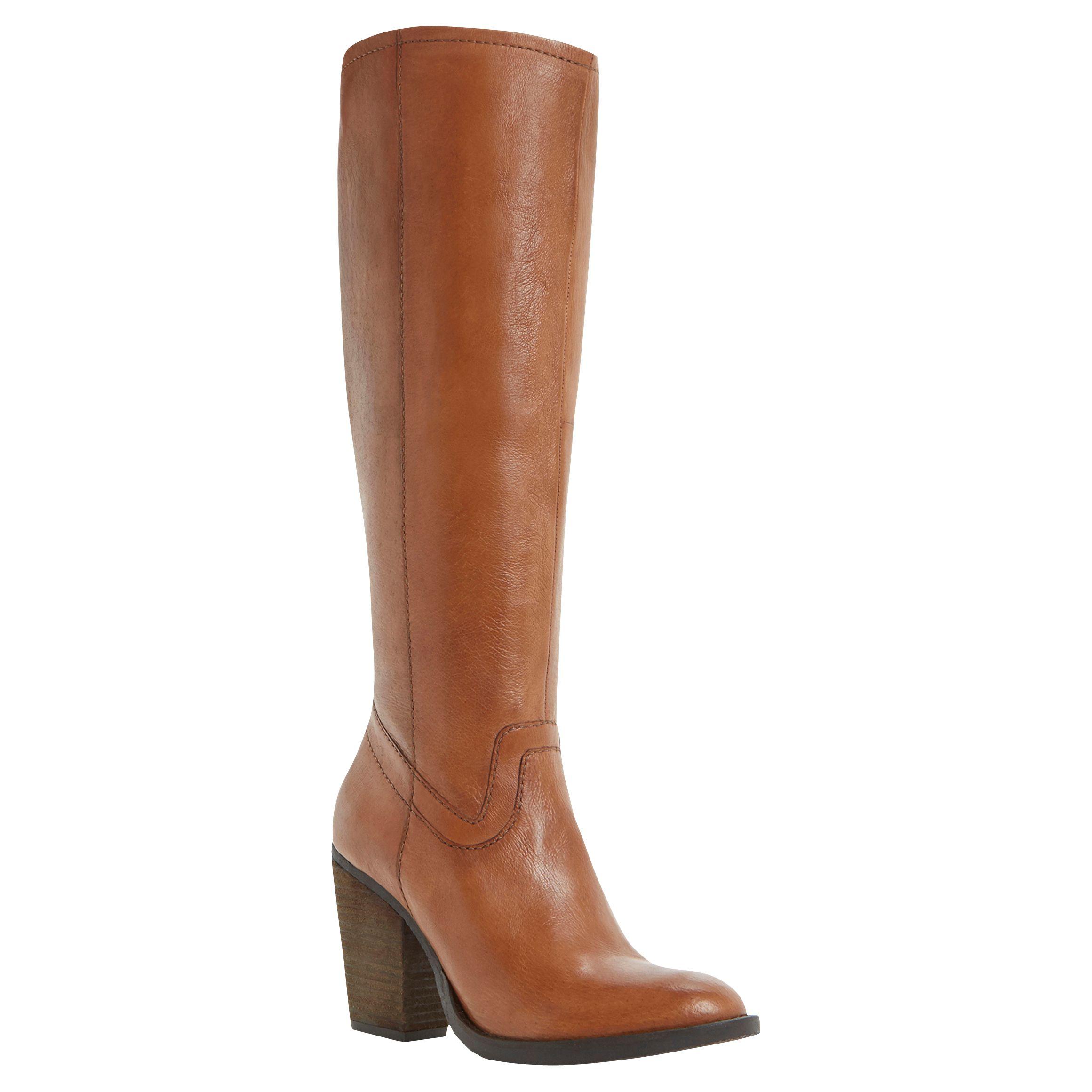 133710c259d64 Steve Madden Carter Leather Knee High Boots at John Lewis & Partners
