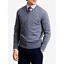 Buy Thomas Pink Hawthorne Merino Wool Jumper Online at johnlewis.com