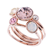 Buy Ted Baker Jackie Jewel Clustered Ring Online at johnlewis.com