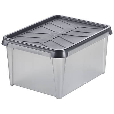 SmartStore by Orthex Stackable Plastic Water Resistant Storage Box