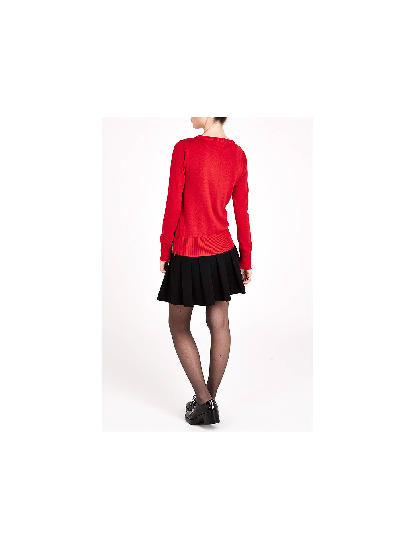 BuyLouche Kat Knit Jumper, Red, 10 Online at johnlewis.com