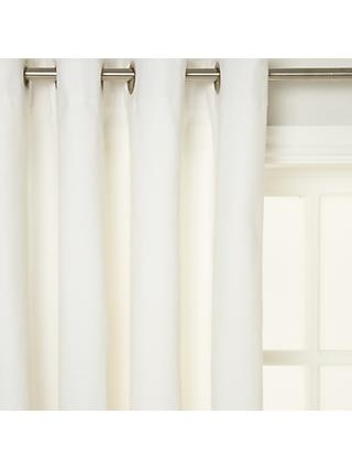 House by John Lewis Pair Lined Eyelet Curtains