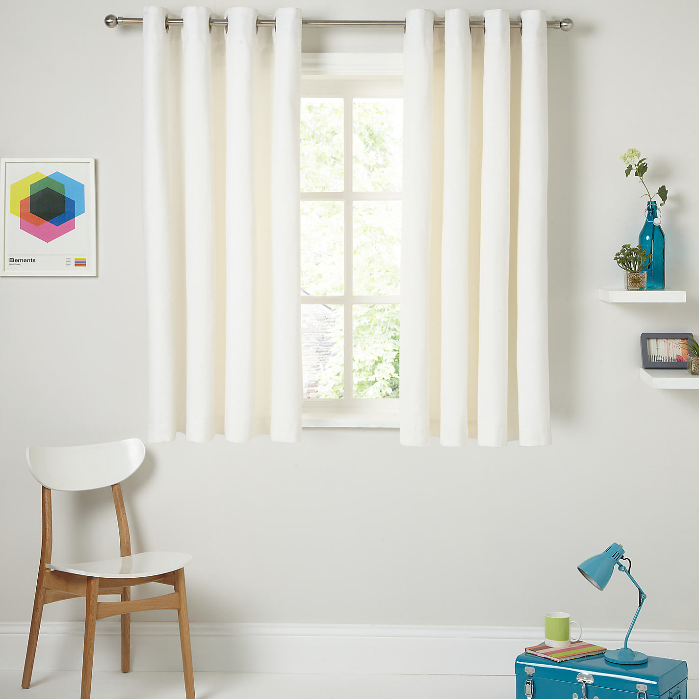 Grey and yellow curtains uk john lewis -  Buy House By John Lewis Lined Eyelet Curtains Online At Johnlewis Com