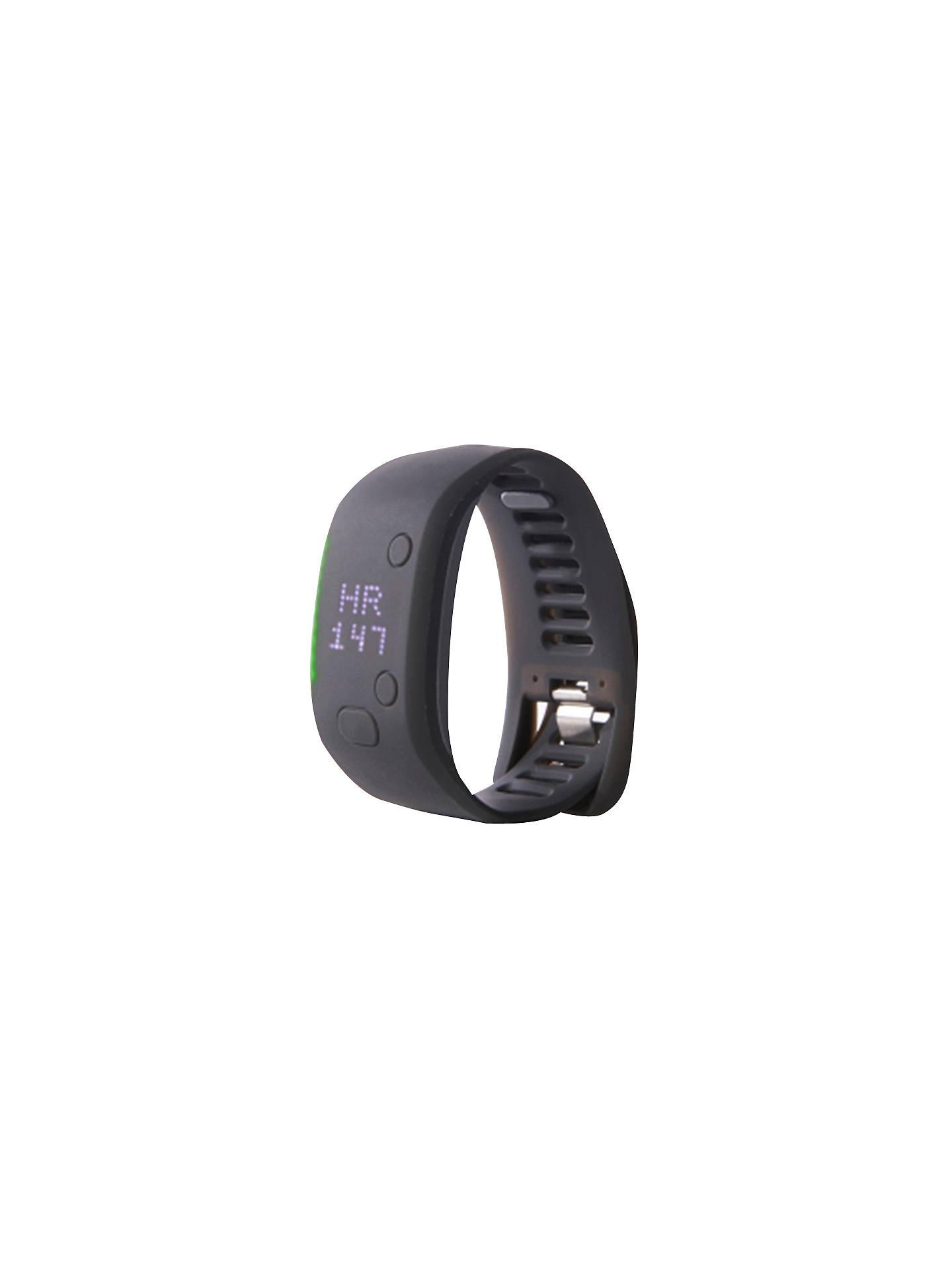 sale retailer 02649 23df7 Buy Adidas miCoach FIT SMART Running Watch, Black, S Online at  johnlewis.com ...