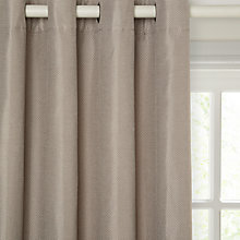 Buy John Lewis Textured Weave Lined Eyelet Curtains Online at johnlewis.com