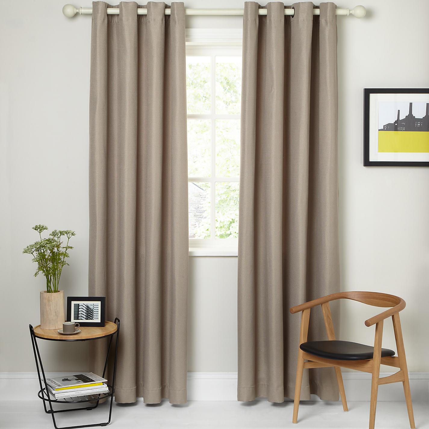 Textured weave eyelet curtains grey curtain menzilperdenet for Gray curtains texture