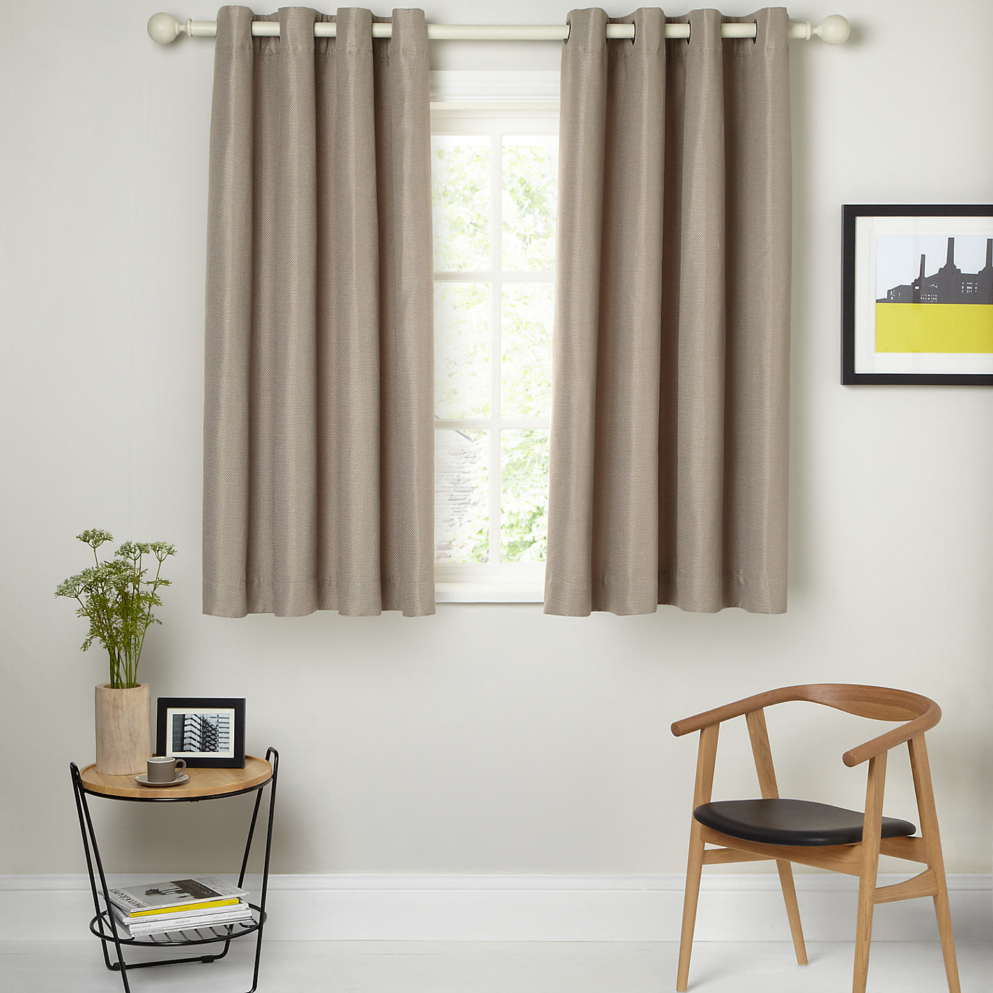 Grey and yellow curtains uk john lewis -  Buy John Lewis Textured Weave Lined Eyelet Curtains Online At Johnlewis Com