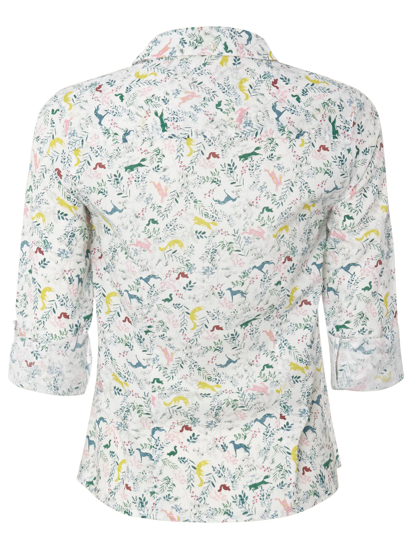 60529af21bfa ... Buy White Stuff Tweedy Shirt, Enamel, 8 Online at johnlewis.com ...