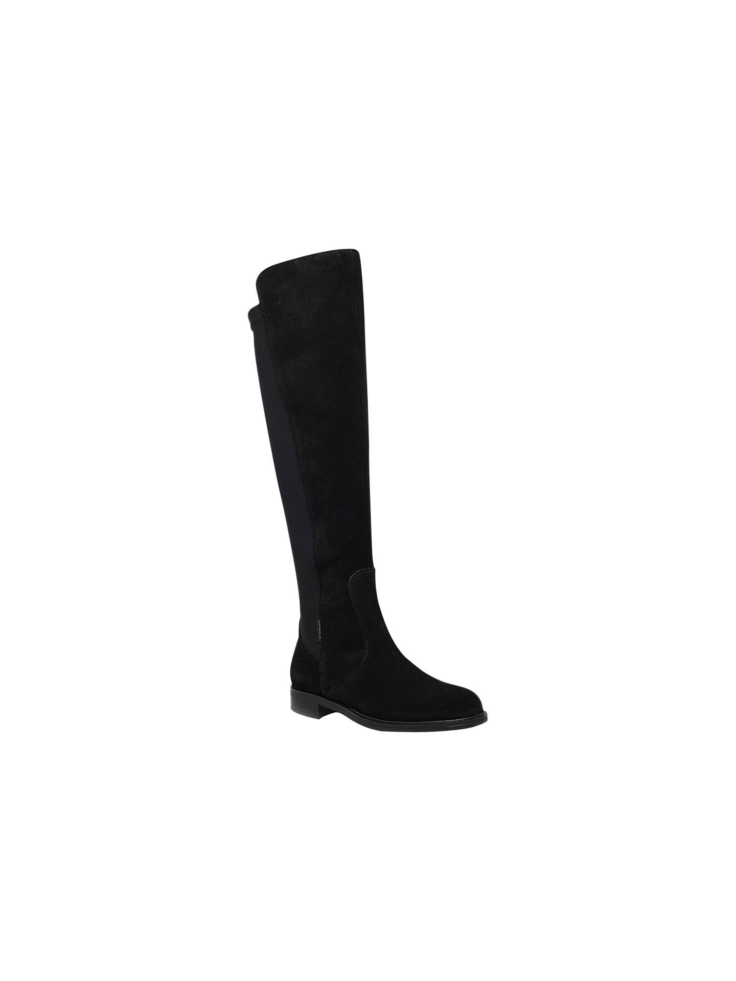 b7ac87b3068 Carvela Walnut Suede Flat Knee High Boots, Black