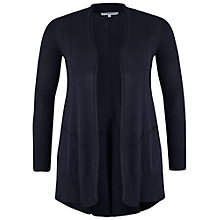 Buy Chesca Seamed Godet Cardigan, Indigo Online at johnlewis.com