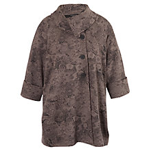 Buy Chesca Floral Jacquard Coat Online at johnlewis.com