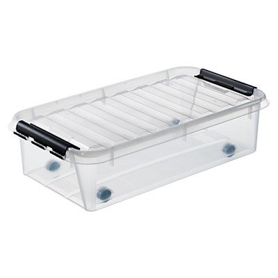 SmartStore by Orthex Classic Underbed Plastic Storage Box (31L)