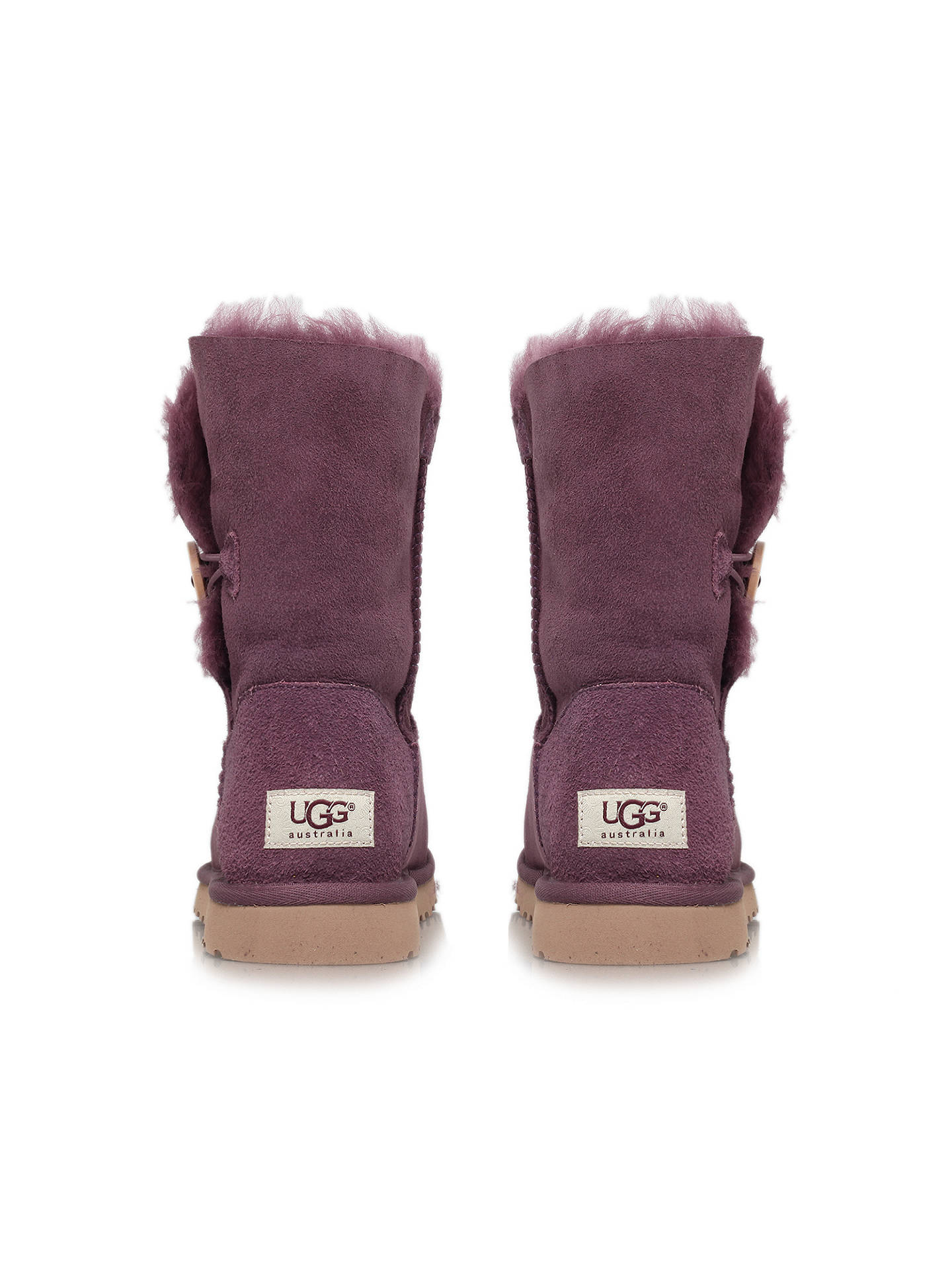 1ec59be4d9a UGG Bailey Twinface Button Boots, Port at John Lewis & Partners