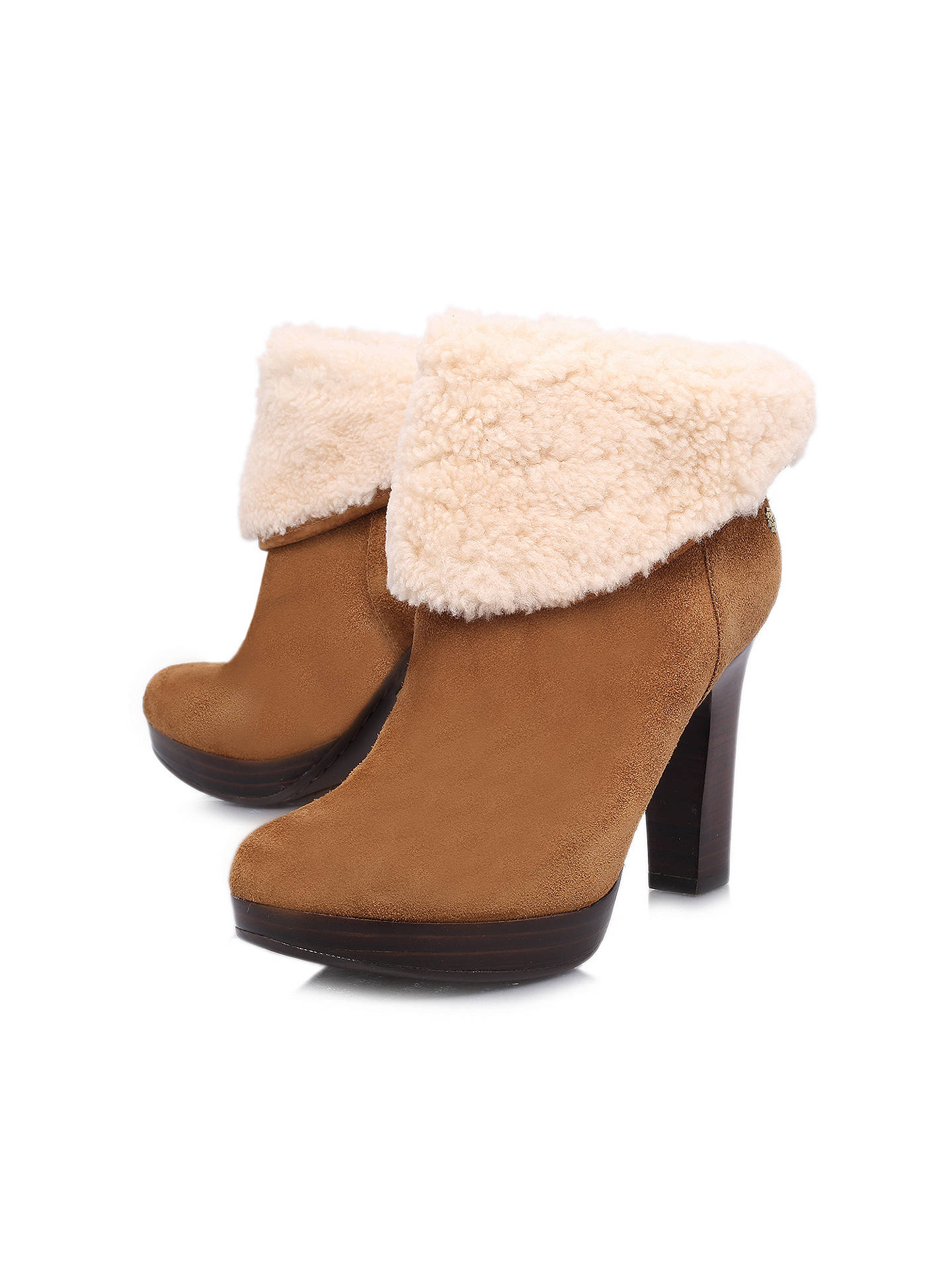 376034d8ac2 Ugg Dandylion II Suede Ankle Boots at John Lewis & Partners