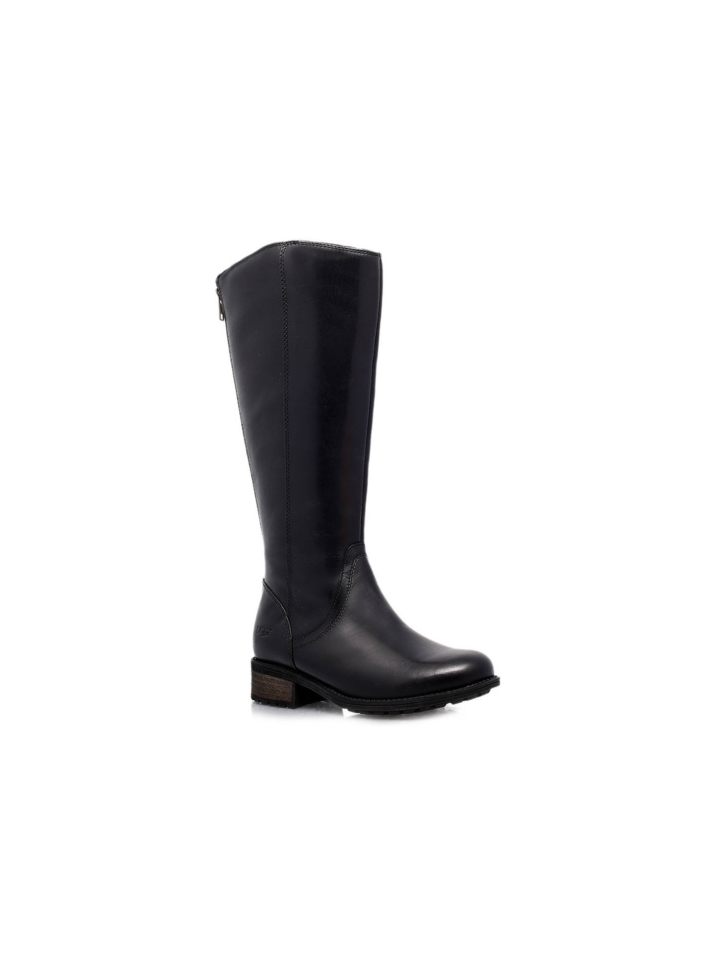 89ba7922f19 UGG Seldon Leather Knee High Boots at John Lewis   Partners