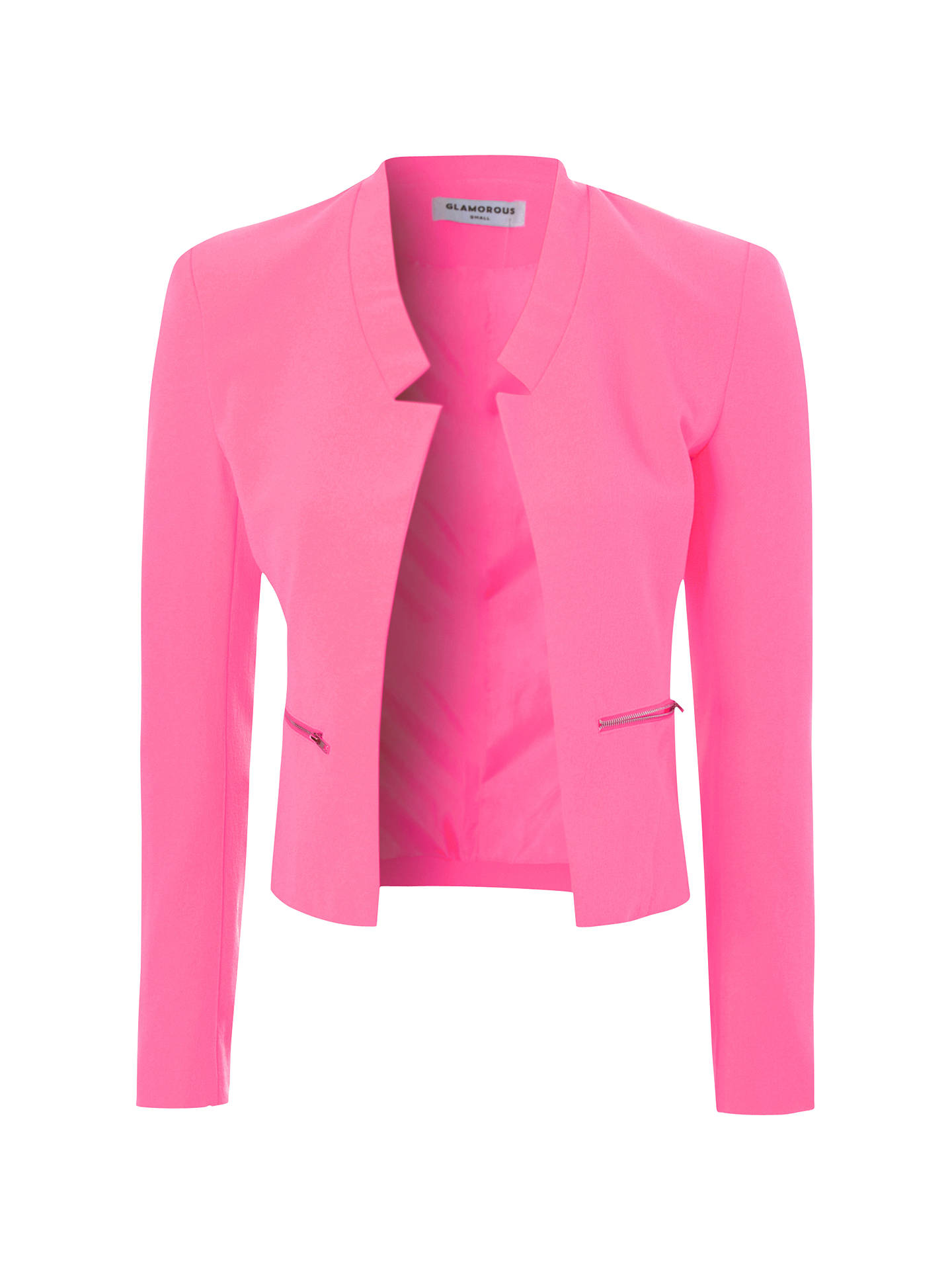 Buy True Decadence Cropped Blazer, Pink, 8 Online at johnlewis.com