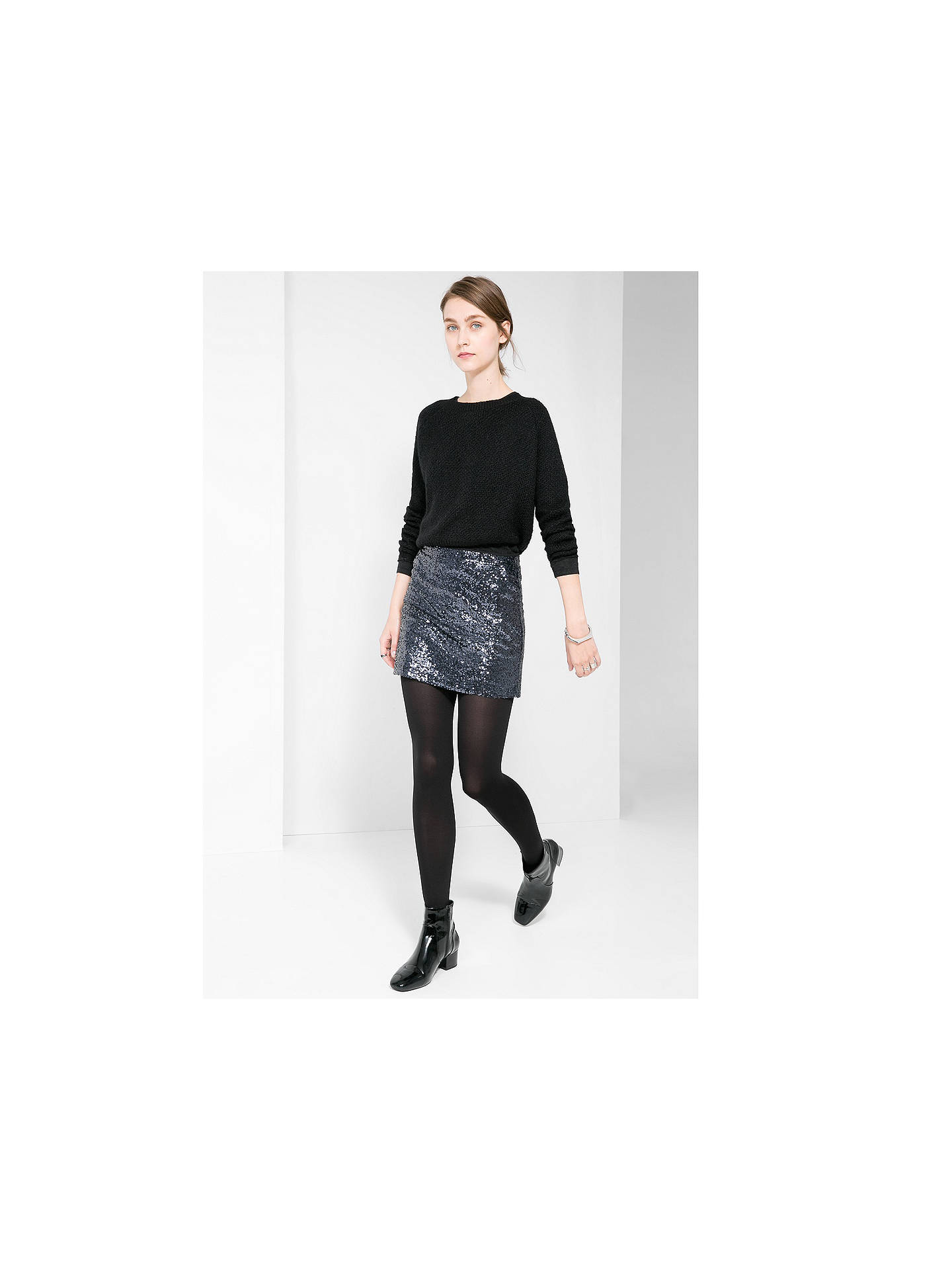 bc9dae8bf7 ... BuyMango Sequin Mini Skirt