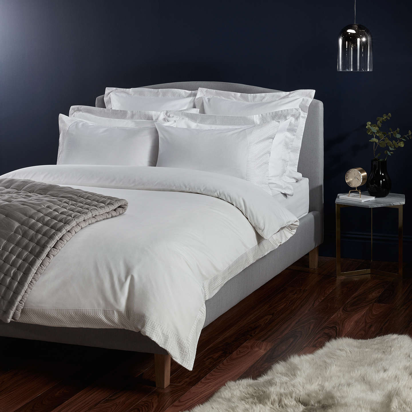 BuyJohn Lewis Treviso Cotton Duvet Cover, King Online At Johnlewis.com ...