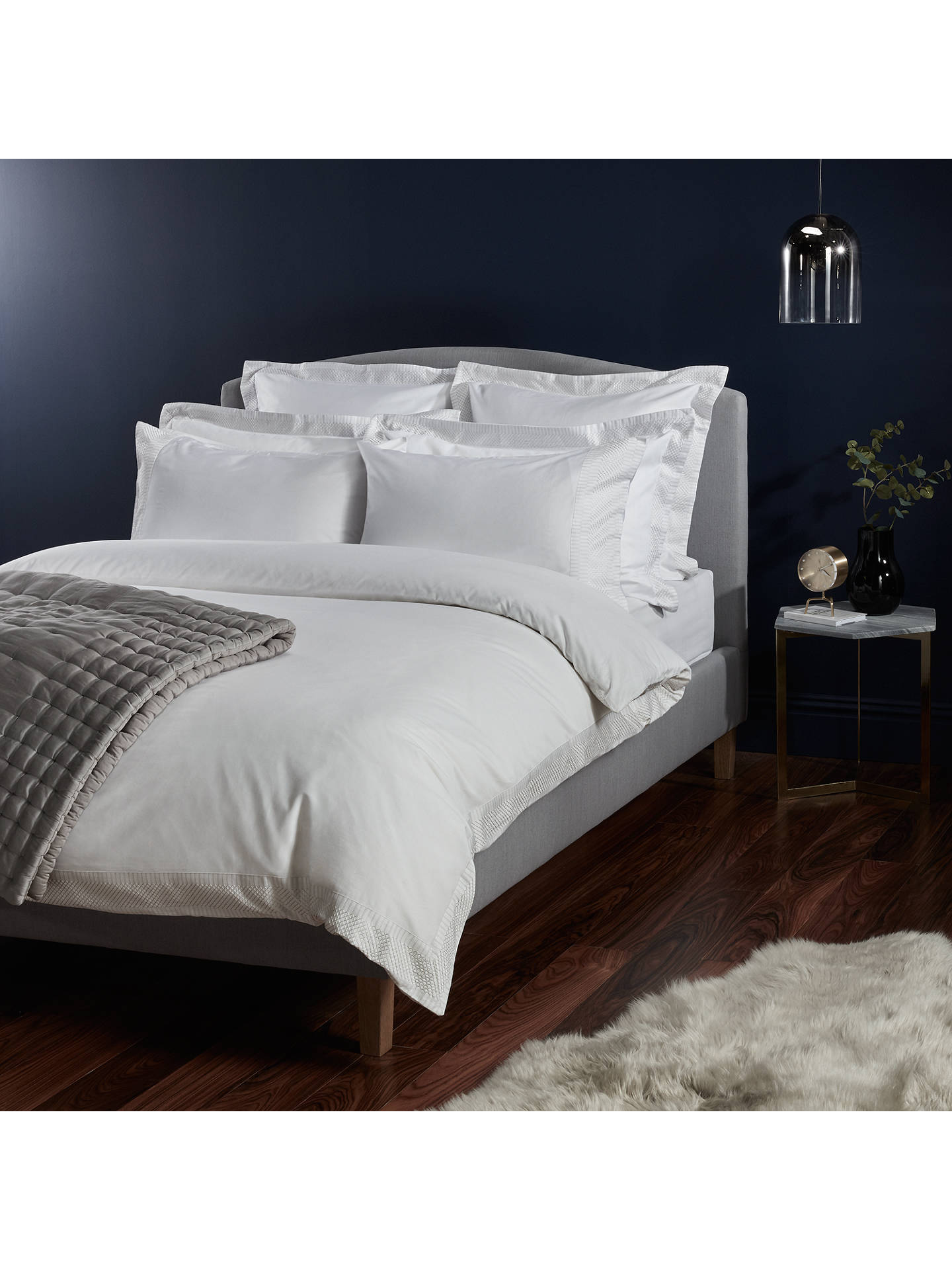 john lewis partners soft and silky treviso cotton. Black Bedroom Furniture Sets. Home Design Ideas