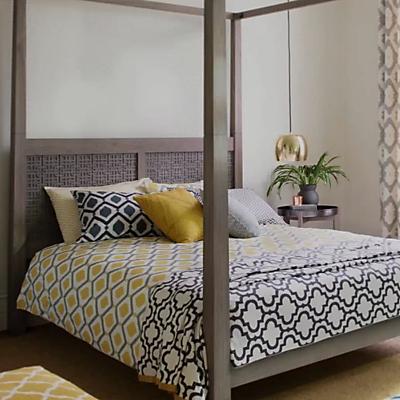 John Lewis Indah Cotton Duvet Cover and Pillowcase Set